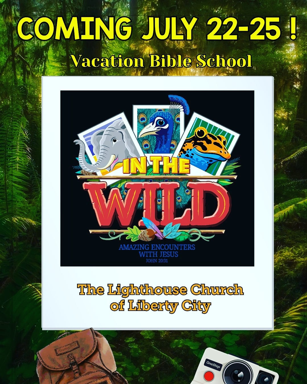 In the Wild VBS 2019 | 89 5 KVNE Community Events